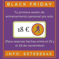 Si vives en #Madrid y quieres comenzar a #entrenar tenemos una oferta especial para ti! #DespiertayEntrena #Despierta #Entrena #entrenamientopersonal #BlackFriday #salud #deporte #bienestar #vidasana #ejercicio #instafit