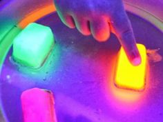 Glowing Ice