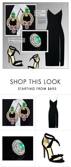 """ExoticGold - Etsy"" by monmondefou ❤ liked on Polyvore featuring Christopher Esber, Alexandre Birman, etsy, ring, necklace, exoticgold and momentsfinejewelry"