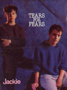 Tears for Fears...early years of Roland Orzabal and Curt Smith