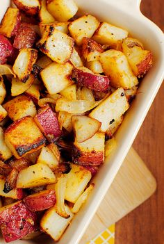 Honey Dijon Roasted Potatoes #saltstudionyc #saltstudioslc