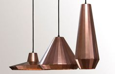 copper lamps... incredible.  Copper Lamps by David Derksen