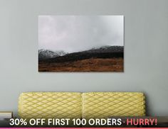 Discover «Snowdonia_5», Limited Edition Acrylic Glass Print by Ana Santos - From 99€ - Curioos