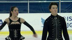 2016 ISU Junior Grand Prix - Ljubljana - Short Dance - Lorraine MCNAMARA...
