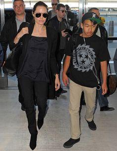 Así han crecido los hijos de Angelina Jolie y Brad Pitt