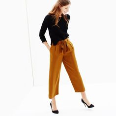 Madewell crop trousers are on my wishlist
