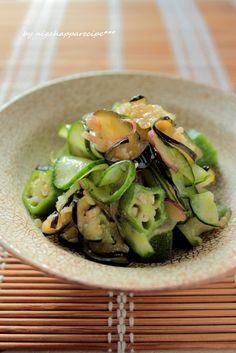 夏野菜のさっぱり和え by にがはっぱ 平沢あや子 「写真がきれい」×「つくりやすい」×「美味しい」お料理と出会えるレシピサイト「Nadia   ナディア」プロの料理を無料で検索。実用的な節約簡単レシピからおもてなしレシピまで。有名レシピブロガーの料理動画も満載!お気に入りのレシピが保存できるSNS。