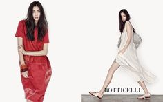 #BOTTICELLI AD_2015 06  #MODEL : #TIANATOLSTOI