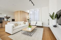Timber Walls, Curved Walls, White Sofas, Deco Furniture, White Tiles, Dining Table Chairs, Fashion Room, Cushions On Sofa, Lounge