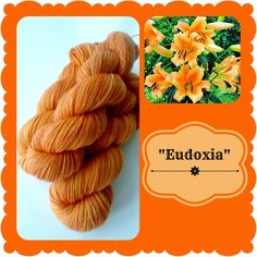 Eudoxia - Dutch Flowers | Red Riding Hood Yarns Yellow And Brown, Orange Yellow, On October 3rd, Red Riding Hood, Yarns, New Zealand, Holland, Dutch, Flowers