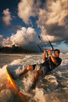 Kite Surfer...