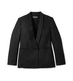 SHAWL LAPEL VISCOSE SUITING TUXEDO JACKET | Shop Tom Ford Online Store