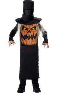 Child Pumpkin Jack Mad Hatter Costume