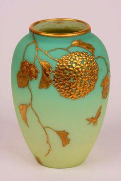Thomas Webb glass vase. @Deidra Brocké Wallace