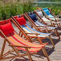 Beach Chair Lounge Pool Pillow Lounge Patio Folding Outdoor Wood Chaise Sun Deck