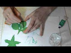 роза из фоамирана - YouTube