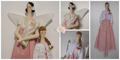 Tildas Atelier Flor de Tule Maria Antônia | Flickr - Photo Sharing! bonecas decorativas para quartos e porta de maternidade. Atelier Flor de Tule