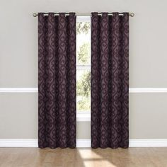 Eclipse Curtains Patricia Window Single Curtain Panel - Walmart.com
