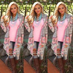 Women Long Sleeve Loose Cardigan Knitted Sweater Jumper Knitwear Outwear Coat #Unbranded #Cardigan