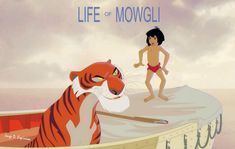 life of mowgli, life of pi, jungle book, Disney, sketch by Jorge D. Life Of Pi, Twisted Disney, Old Disney, Funny Art, Good Old, Pixar, Scooby Doo, Disney Characters, Fictional Characters