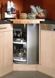 Des rangements dans tous les coins le meuble d angle est for Accessoire de rangement de cuisine