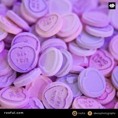 Love hearts - got to love the retro sweets - ideal for favours
