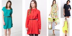 """Stylish Shirt dress!"" Awesome list on #dresses #buttons by @garimalsr #fashion"