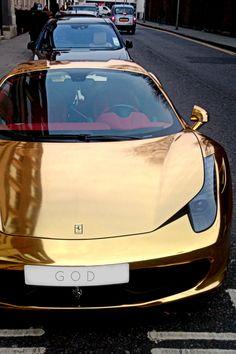 Ferrari 458 Gold