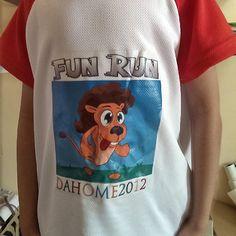 Fun Run t-shirt