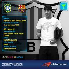 Neymar es uno de los mejores jugadores del mundo, te presentamos datos poco conocidos del crack brasileño. #Brasil2014 Lionel Messi, Neymar, Maserati, Fifa, Athletes, Grande, Sports, Brazil, World