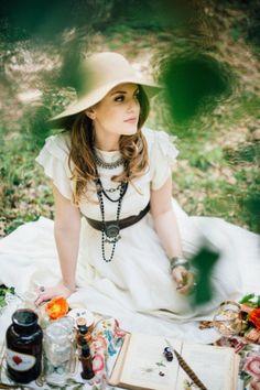 gypsy wedding inspiration // photo: lelia scarfiotti