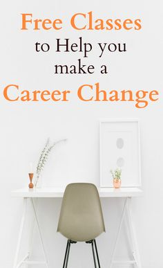 If you want to make a career change, take advantage of all the free classes that are available online. Become a student on your own schedule and have fun learning. See how easy it is to start a new career path.