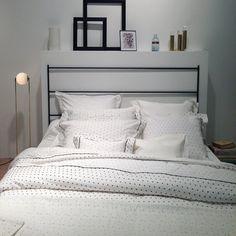 Salon Maison & Objet (janvier 2015) : les nouveautés textile. Linge de lit Plumetis - Nina Ricci