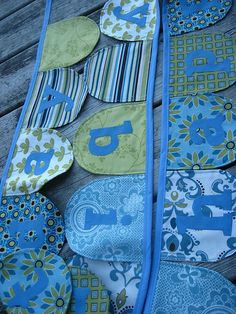 lik the addition of letters Bunting Banner, Banners, Birthday Bunting, Baby Items, Playroom, Quilts, Garlands, Fun, Crafts
