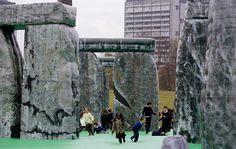 bouncy Stonehenge in Glasgow!