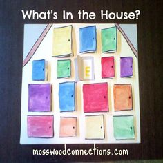 What's In the House Early Language Activity