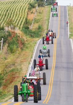 Tractors Tall and Small