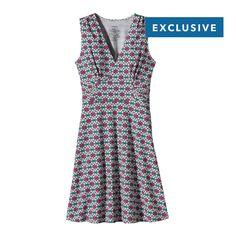 In one beautiful move, the Patagonia Women's Margot Dress crosses the line between work and play. Made with Fair Trade Certified organic cotton!  #FairTrade #organic #apparel