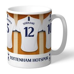 One of our best-selling Tottenham Hotspur FC gifts of all time, this personalised dressing room mug is the ultimate must-have for any Tottenham Hotspur FC fan. Fully licensed and approved by Tottenham Hotspur FC themselves, you can be assured of q. Birthday Gifts For Boys, Boy Birthday, Manchester United Gifts, Personalised Gifts For Him, Personalised Football, Gifts For Sports Fans, Tottenham Hotspur Fc, Fc Chelsea, Perfect Gift For Him