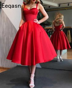 Short Red Prom Dresses, Red Homecoming Dresses, Prom Dresses With Pockets, Short Prom, Wedding Dresses, Long Dresses, Summer Dresses, Short Elegant Dresses, Dress Long