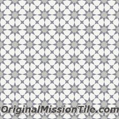 original mission tile: moroccan cement tile F88373-AGDIR 8 x 8