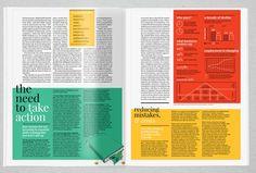 business magazine layout - Google Search