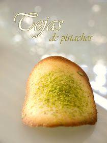 Bocados dulces y salados: Tejas de pistachos