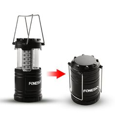 LED Camping Lantern, Foneso Ultra Bright Portable Outdoor Flashlights, Emergency Collapsible Lantern…