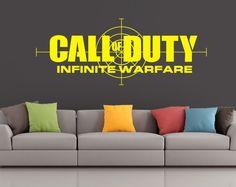 Call of Duty Infinite Warfare - Vinyl Transfer - Wall Sticker - Gaming - Boys Bedroom