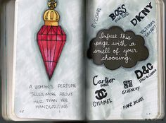 wreck this journal - infuse this page