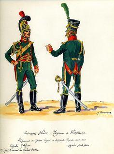 Cavalleggeri della guardia reale westfaliana