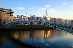 And because of the Ha'Penny Bridge.   31 Ways Living In Dublin Ruins You For Life
