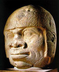 Xalapa Anthropology Museum   Xalapa, Veracruz, Mexico  OLMEC Colossal Head No. 9, San Lorenzo