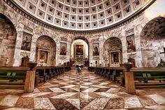 Interior Canova's Church, Possagno, Bassano del Grappa, Veneto, Italy